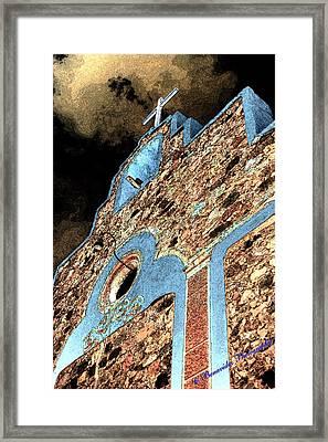 Church Cross Framed Print