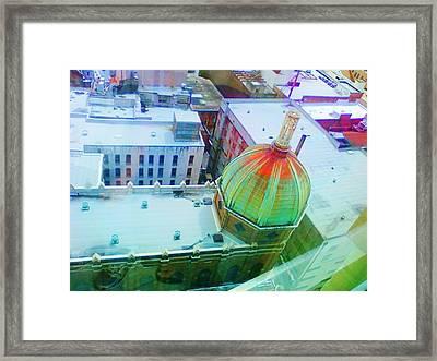 Church Dome II Framed Print