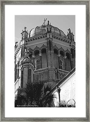 Church Dome Framed Print by Janice Spivey