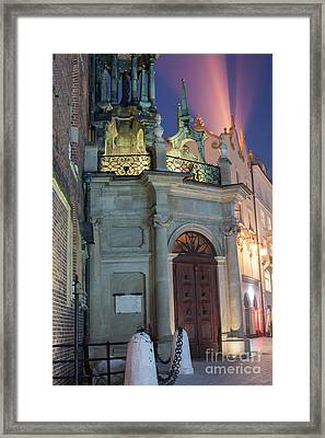 Framed Print featuring the photograph Church Door by Juli Scalzi