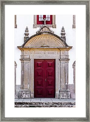 Church Door Framed Print by Marco Oliveira