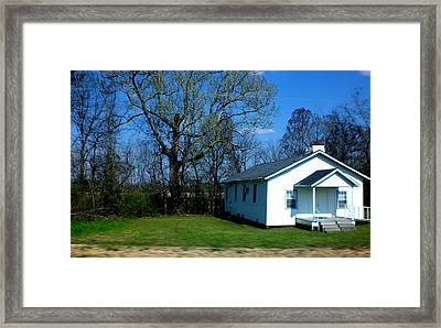 Church Highway 61 Framed Print