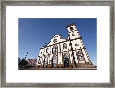 Church In Azores Islands Framed Print by Gaspar Avila