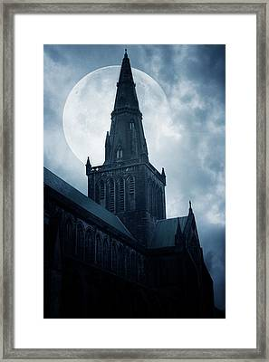 Glasgow Cathedral Framed Print by Cambion Art