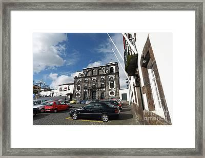 Church In Ponta Delgada Framed Print by Gaspar Avila