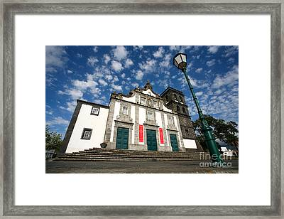 Church In Ribeira Grande Framed Print by Gaspar Avila