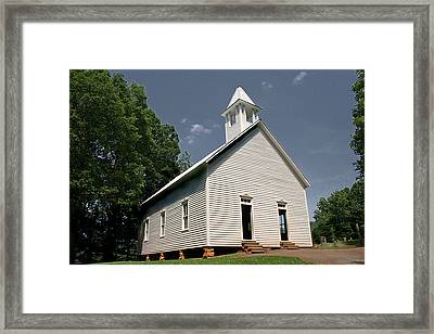 Church In The Cove Framed Print by Barry Jones