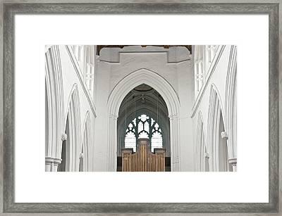 Church Interior Framed Print by Tom Gowanlock