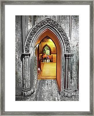 Church Interior Framed Print