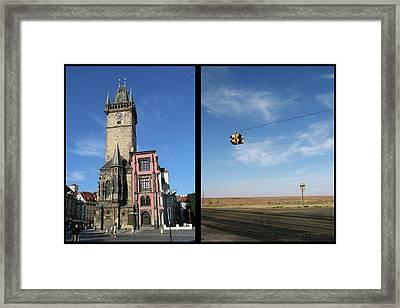 Church Framed Print by James W Johnson