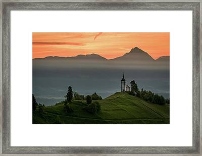 Church Jamnik Framed Print