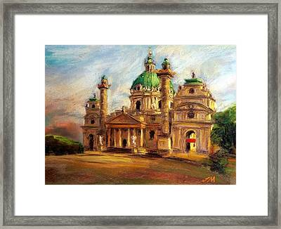 Church Framed Print by Jieming Wang