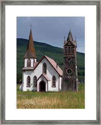 Church Framed Print by Marty Koch