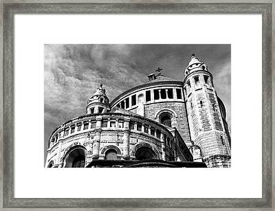 Church Of Dormition Framed Print by John Rizzuto
