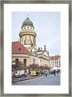 Church Of Friedrichstadt Framed Print by Tom Gowanlock