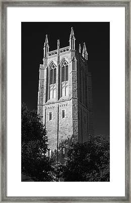 Church Of Heavenly Rest Bell Tower Framed Print by Stephen Stookey