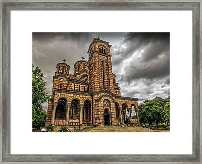 Church Of Saint Mark Framed Print