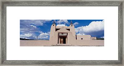 Church Of San Jose De Garcia, Las Framed Print