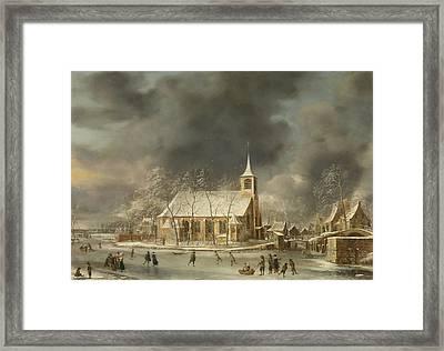Church Of Sloten 2 Framed Print