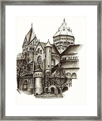 Church Of St. Anna Munich Framed Print by Karina Plachetka