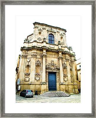 Church Of St Chiari Framed Print