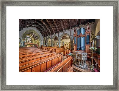 Church Of St. David Framed Print by Adrian Evans