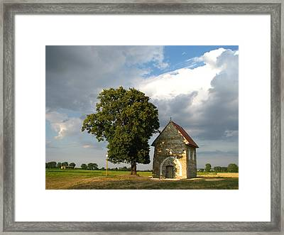 Church Of St Margaret Of Antioch Kopcany Framed Print by Michalnovota
