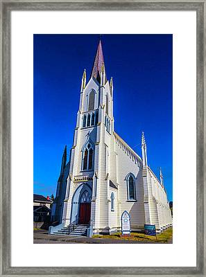Church Of The Assumption Framed Print by Garry Gay