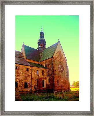 Church Of The Blessed Virgin Mary And St. Florian In The Wachock Framed Print