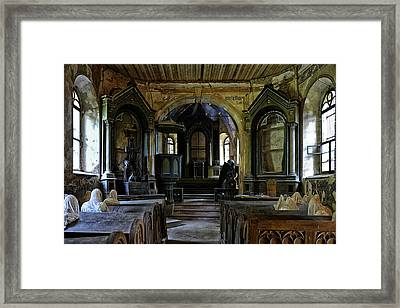 Church Of The Ghosts Framed Print