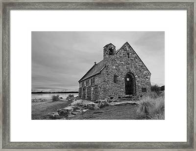 Church Of The Good Shepherd Framed Print by Andrea Cadwallader