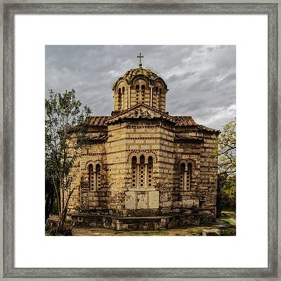 Church Of The Holy Apostles Framed Print