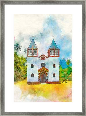 Church Of The Holy Family Framed Print