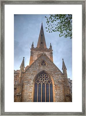 Church Of The Holy Trinity Stratford Upon Avon 1 Framed Print by Douglas Barnett