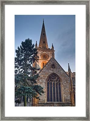 Church Of The Holy Trinity Stratford Upon Avon 4 Framed Print by Douglas Barnett