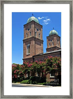 Framed Print featuring the photograph Church Of The Immaculate Conception One by Ken Frischkorn