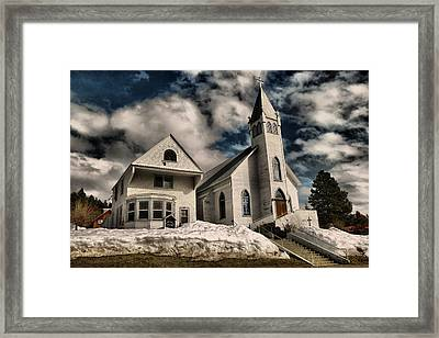 Framed Print featuring the photograph Church Of The Immaculate Conception Roslyn Wa by Jeff Swan