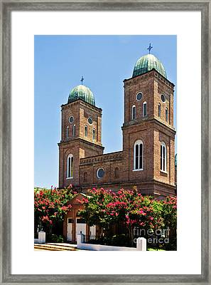 Framed Print featuring the photograph Church Of The Immaculate Conception Three by Ken Frischkorn