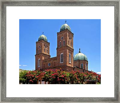 Framed Print featuring the photograph Church Of The Immaculate Conception Two by Ken Frischkorn