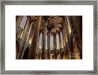 Church Of The Jacobins Interior Framed Print by Elena Elisseeva
