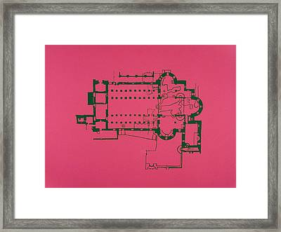 Church Of The Nativity Framed Print by Jessica Pope
