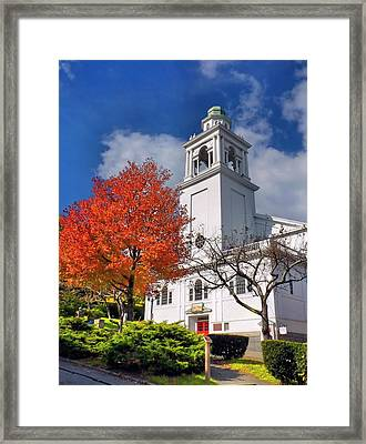 Church Of The Pilgrimage Framed Print