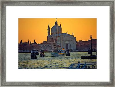 Church Of The Redentore In Venice Framed Print by Michael Henderson