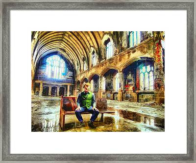 Church Of Thhe Joker Framed Print