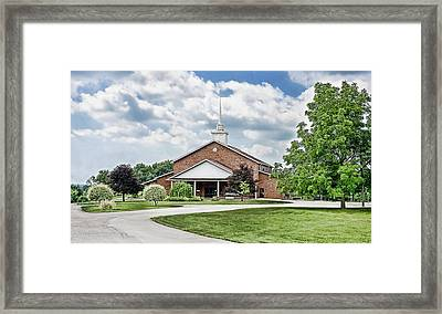 Church On Coldwater Framed Print