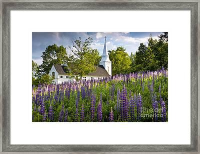 Church On Sugar Hill Framed Print