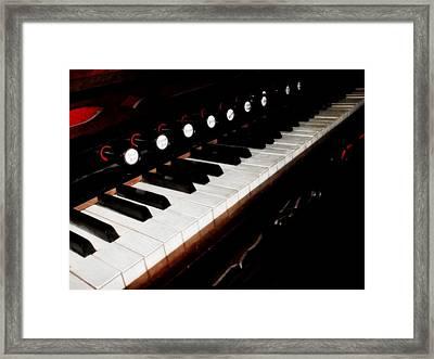 Church Organ Framed Print by Scott Hovind