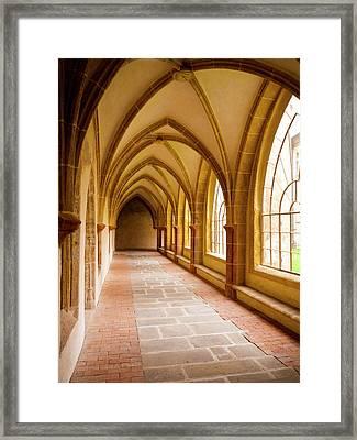 Church Passage Framed Print by Rae Tucker