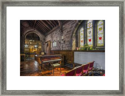 Church Piano Framed Print