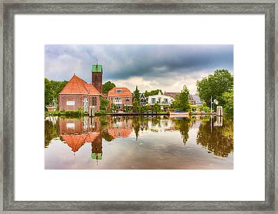 Church Reflections Framed Print